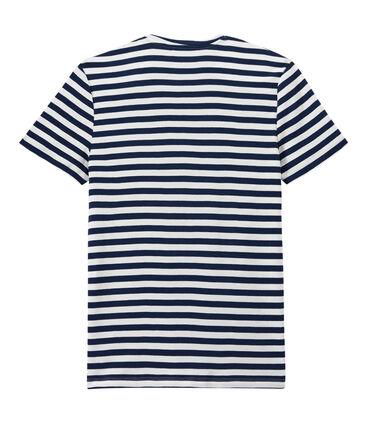T-shirt homme à rayures bicolores