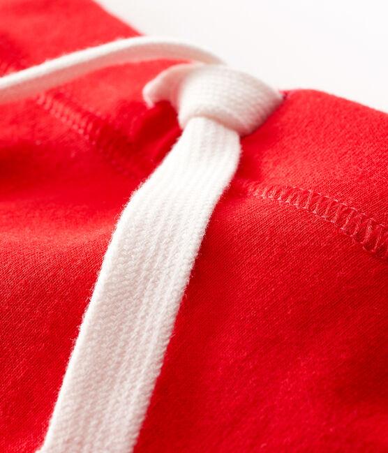 Short bébé mixte uni rouge Peps
