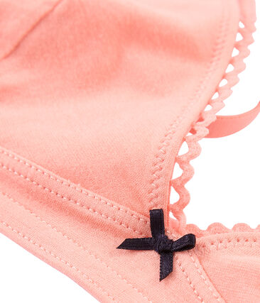 Soutien-gorge femme en jersey extrafin
