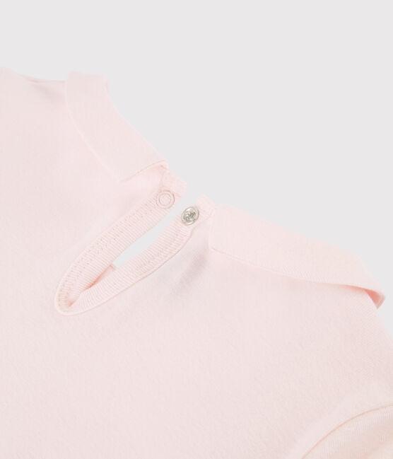 Tee-shirt col claudine enfant fille FLEUR