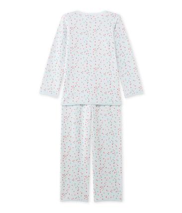 Pyjama fille en bouclette velours