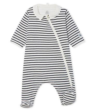 Bodyjama zippé bébé en côte