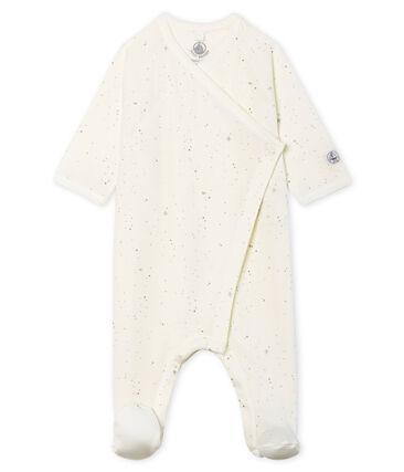 Dors bien bébé en tubique blanc Marshmallow / blanc Multico Cn