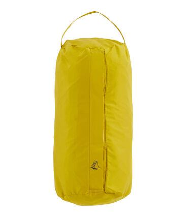 Coupe-vent long réversible femme jaune Bamboo / vert Pinede