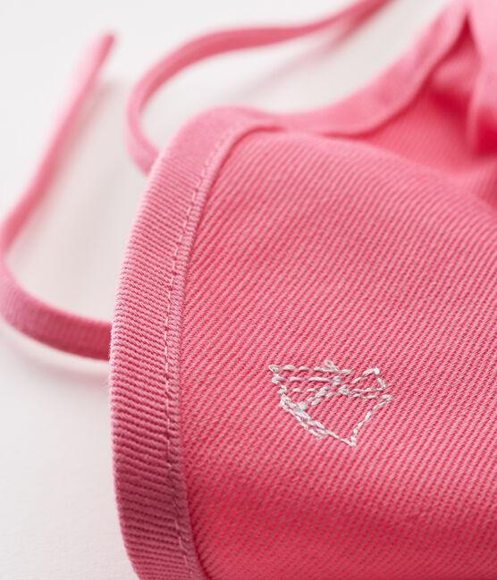 Casquette soleil bébé rose Groseiller
