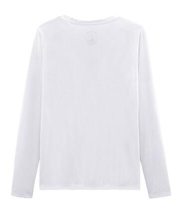 Tee shirt manches longues coton sea island femme
