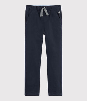 Pantalon chaud enfant garçon bleu Smoking