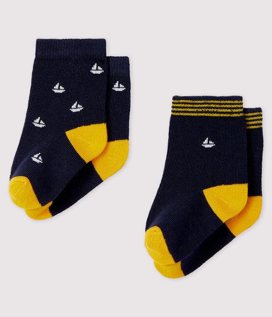 Lot de 2 paires de chaussettes bébé lot .
