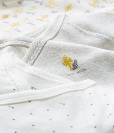 Trio de bodies naissance manches longues bébé garçon lot .