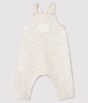 Salopette longue bébé en tubique gris Montelimar Chine