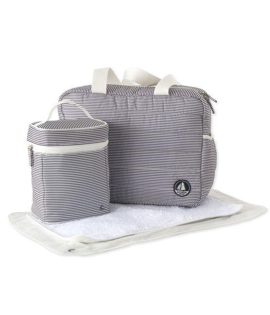 Lot composé de 1 sac à langer, 1 sac isothèrme et 1 tapis à langer en nylon. lot .