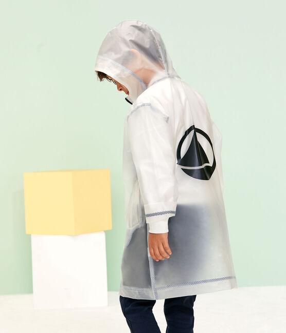 Ciré long transparent enfant mixte bleu Transparent