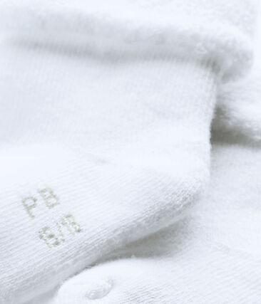 Chaussettes bébé en éponge