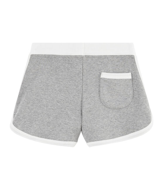 Short de sport enfant fille gris Subway