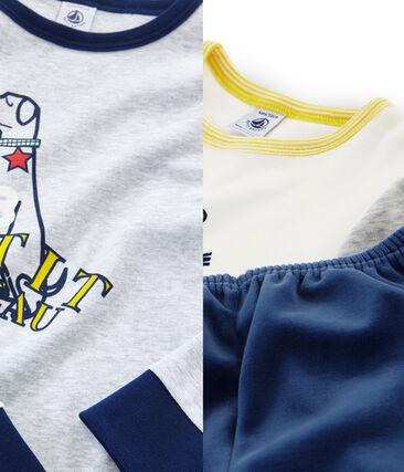 Duo de pyjamas petit garçon lot .