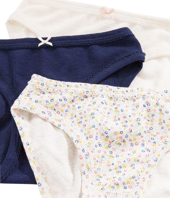 Trio de culottes en lin/coton petite fille lot .