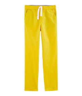 Pantalon enfant garçon jaune Gengibre