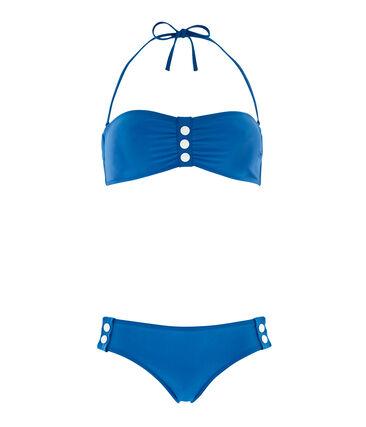 Maillot de bain 2 pièces femme bleu Riyadh