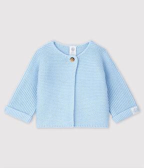 Cardigan bébé en tricot 100% coton TOUDOU