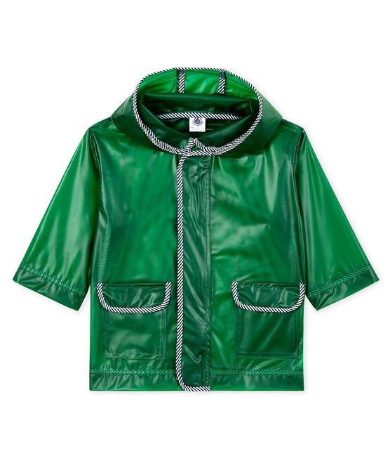 Ciré bébé mixte transparent vert Prado