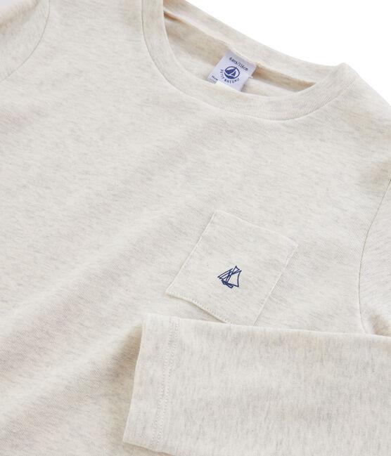 Tee-shirt manches longues enfant garçon gris Montelimar Chine