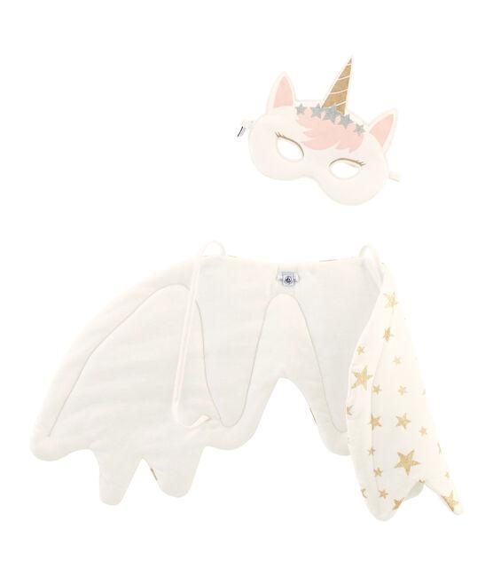 Accessoires petite fille blanc Marshmallow / jaune Or