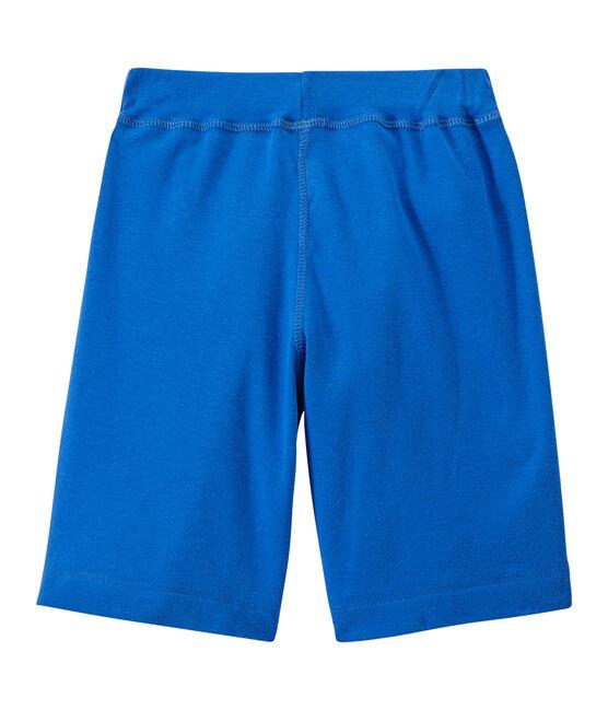 Short garçon bleu Perse
