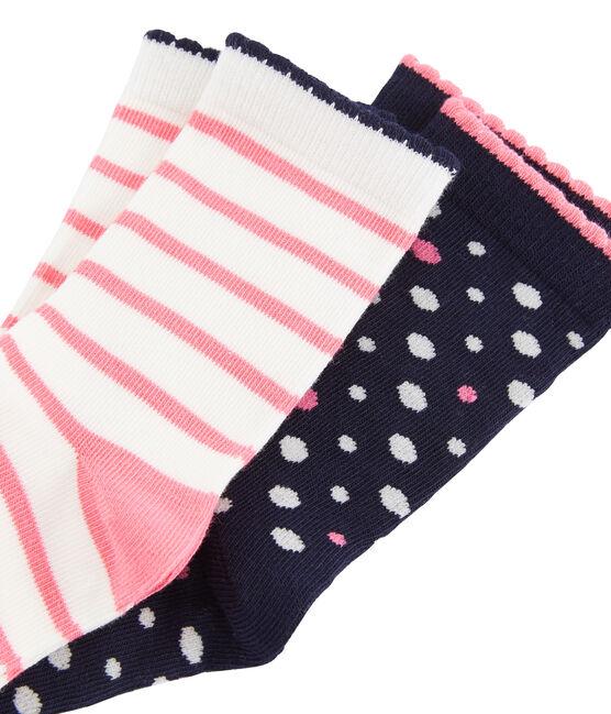 Lot de 2 paires de chaussettes mi-hautes lot .