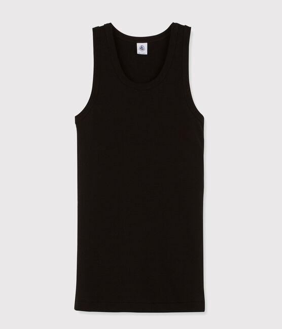 Débardeur iconique en coton Femme noir Noir