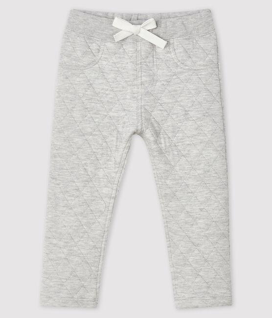 Pantalon en tubique bébé garçon gris Beluga