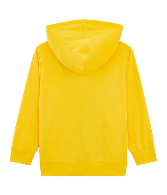 Sweat shirt enfant jaune Shine
