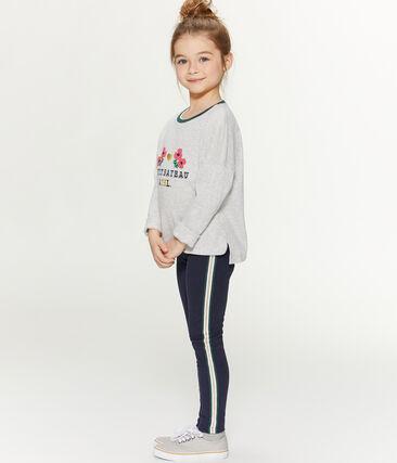 Tee-shirt sérigraphié enfant fille