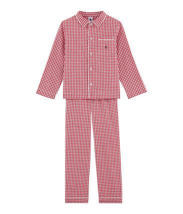 Pyjama petit garçon à carreaux