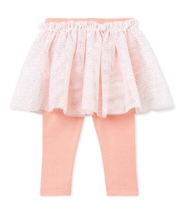 Jupe legging bébé fille blanc Marshmallow Cn