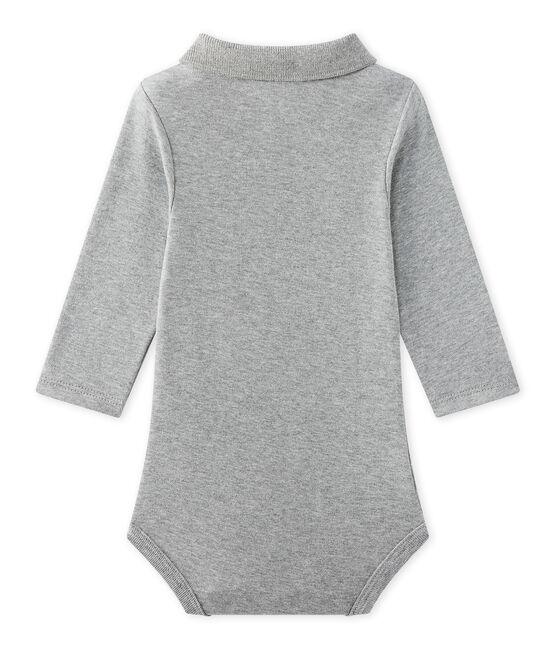 Body bébé garçon à col gris Subway Chine