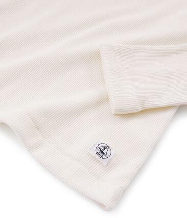 Tee shirt chaud femme blanc Marshmallow