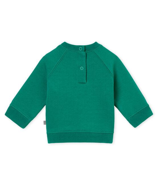 Sweatshirt bébé garçon vert Pivert