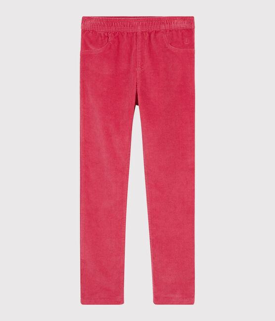 Pantalon velours enfant fille POPPY