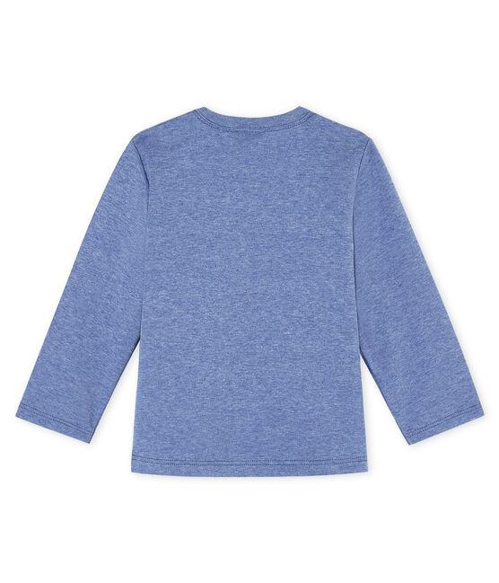 Tee shirt manches longues bébé bleu Captain Chine
