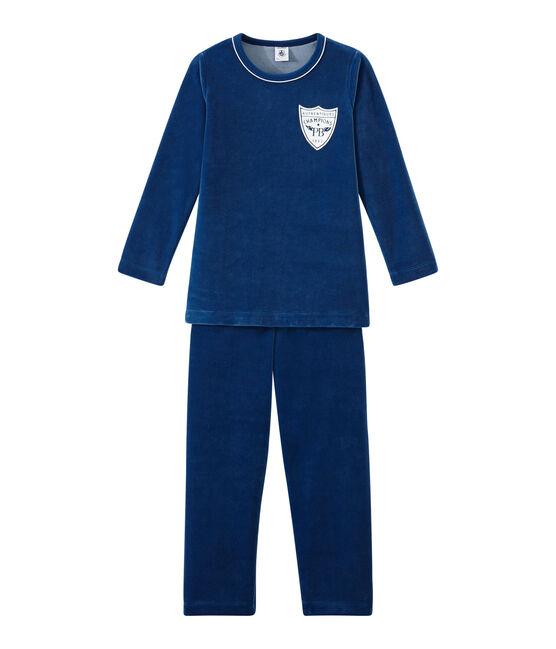 Pyjama petit garçon bleu Limoges