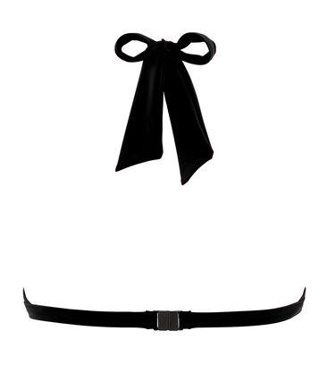 Haut de maillot de bain femme noir Noir