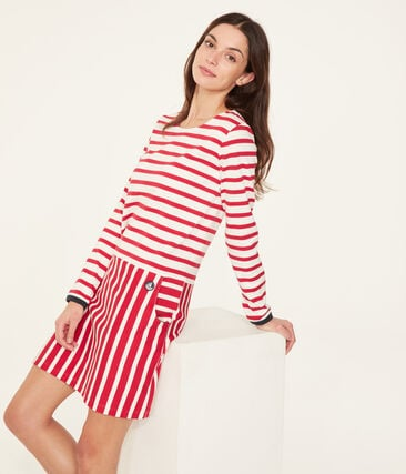 Robe manches longues femme