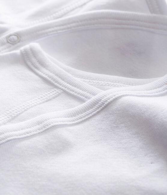 Lot de 2 bodies naissance blancs manches longues bébé lot .