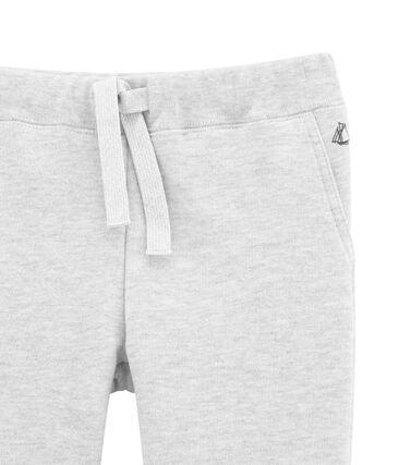 Pantalon garçon en molleton gratté