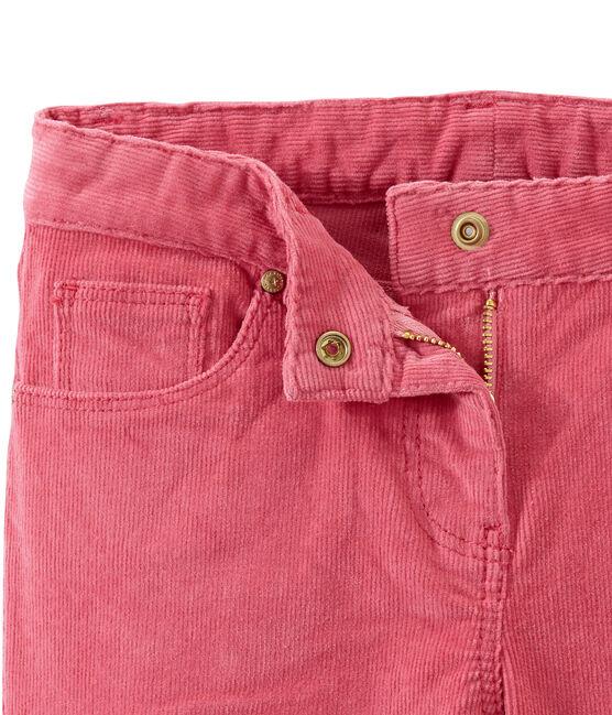 Pantalon enfant fille rose Cheek
