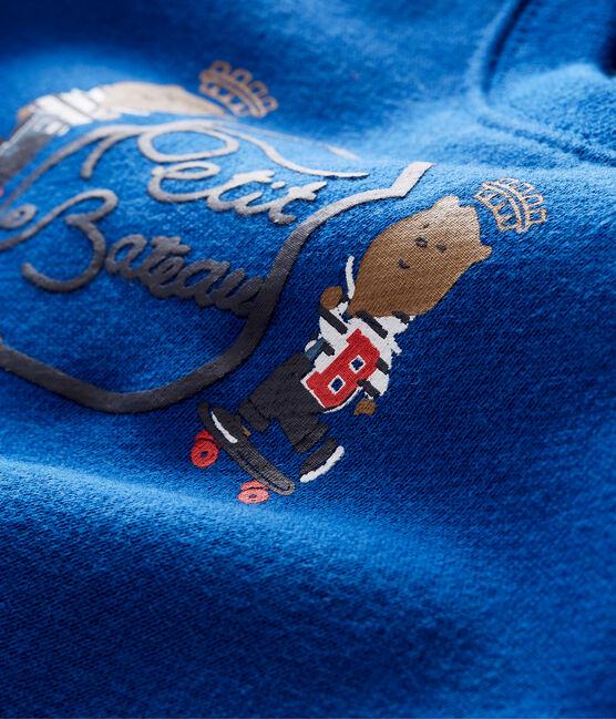 Sweatshirt bébé garçon bleu Limoges