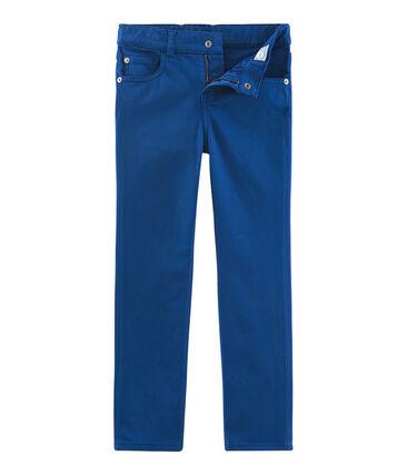 Pantalon enfant garcon bleu Limoges