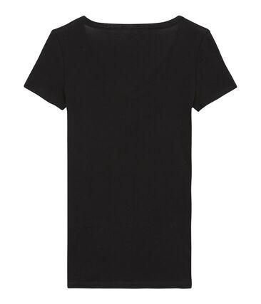 Tee-shirt manches femme courtes en coton léger