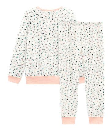 Pyjama petite fille en bouclette éponge grattée