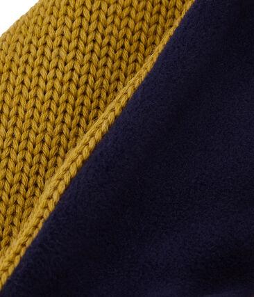 Snood enfant en tricot doublé